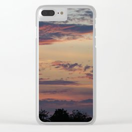 Vibrant Clouds Clear iPhone Case