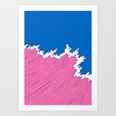 Sea Swell Art Print