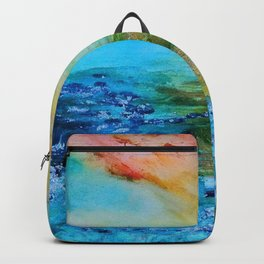 sunset over hawaii Backpack