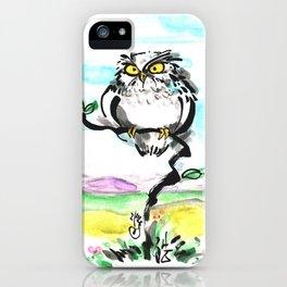 Owl Mimizuku iPhone Case