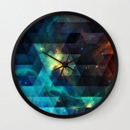 Galaxies I Wall Clock