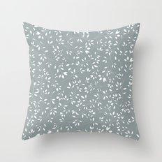 Delicate flora 002 Throw Pillow