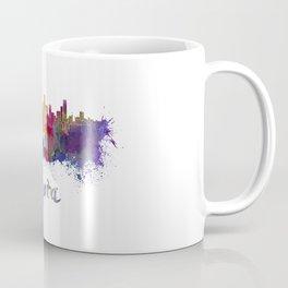 Bogota skyline in watercolor Coffee Mug