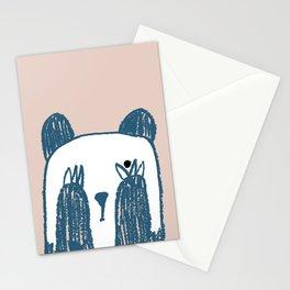 No peeking panda Stationery Cards