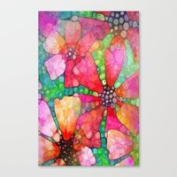 stained glass Canvas Prints featuring Stained Glass by 2dayspic