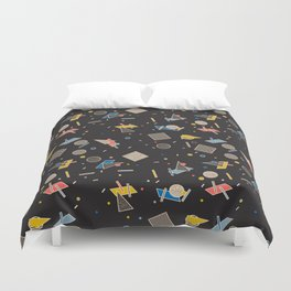 Memphis Inspired Pattern 10 Duvet Cover
