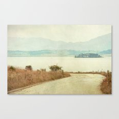 The Curve Canvas Print