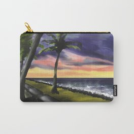 sunset at Boa Viagem Beach Carry-All Pouch