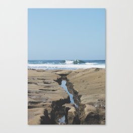 To The Wave Canvas Print