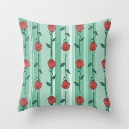 Mary's Garden - Roses Throw Pillow