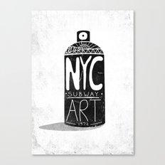 NYC 1972 Canvas Print