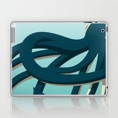 Octopus blue Laptop & iPad Skin