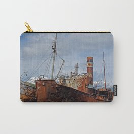 Abandoned Whaling Ships Carry-All Pouch