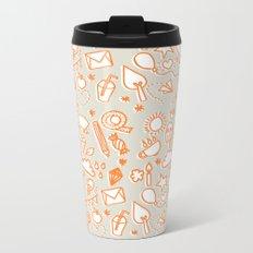 extra doodles Metal Travel Mug