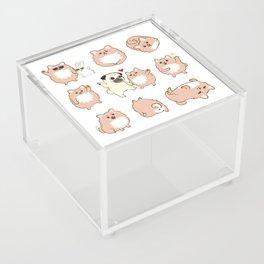 Happy dogs, Happy Life Acrylic Box