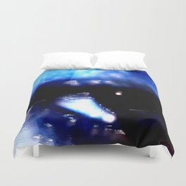 Blue Eyed Confusion Duvet Cover