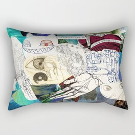 Collage 27 Rectangular Pillow