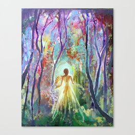 Dance of the Changing Leaves Canvas Print