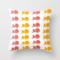 Beautiful Textile Cat Patten Throw Pillow