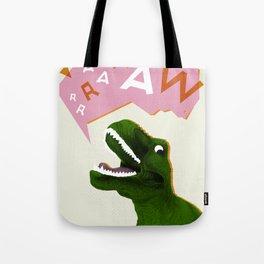 Dinosaur Raw! Tote Bag