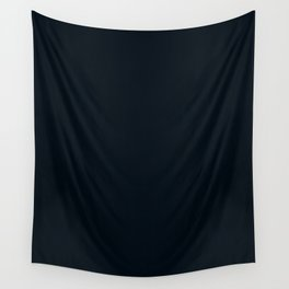 Rich black (FOGRA29) - solid color Wall Tapestry