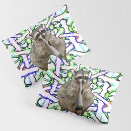 Raccoon Spliff Pillow Sham