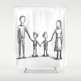 Family - The Twins Shower Curtain