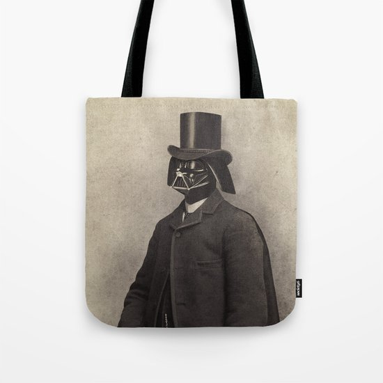 Lord Vadersworth  - square format Tote Bag