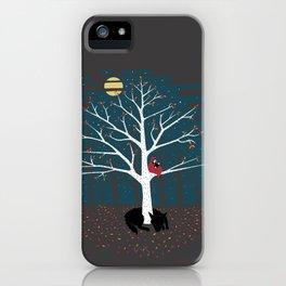 I'll Wait Here iPhone Case