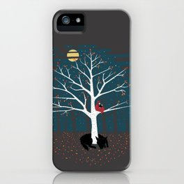 I'll Wait Here iPhone Case
