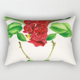 Taurus Roses Rectangular Pillow