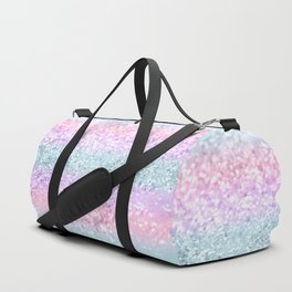 Unicorn Girls Glitter #11 #shiny #pastel #decor #art #society6 Duffle Bag