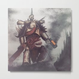 Death Guard Metal Print