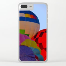Hot Air Balloon Festival - II Clear iPhone Case