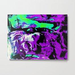 Farben-Abstrakt 3 Metal Print
