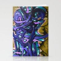 graffiti Stationery Cards featuring Graffiti by Fine2art