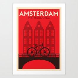 Amsterdam City Art Print