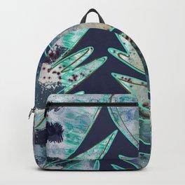 Mixed Media - Trees - Digital Artwork Backpack