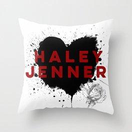 HJ Throw Pillow