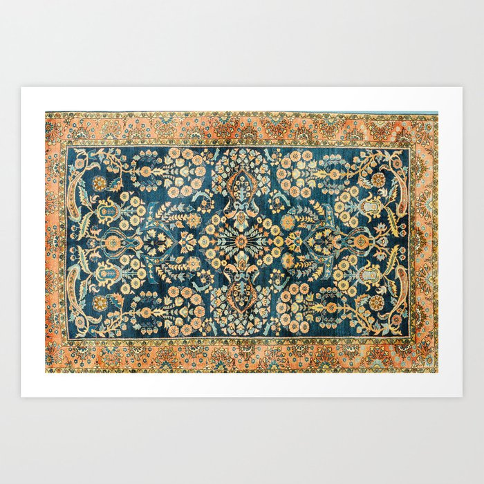 Sarouk  Antique West Persian Rug Print Kunstdrucke