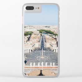 Vatican Panorama Clear iPhone Case