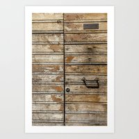 Reclaimed Wood Art Print