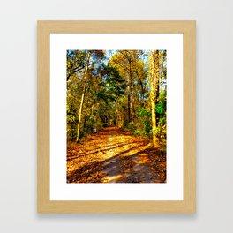 Tow Path Framed Art Print