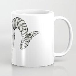 Ram Skull Coffee Mug