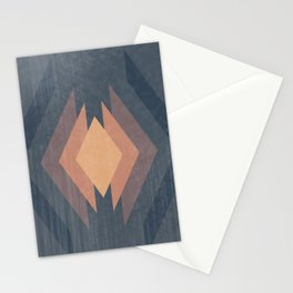 343 - Retro Diamonds Stationery Cards