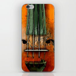 Alte Geige. iPhone Skin