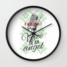 Roxanne Voice of an Angel Wall Clock