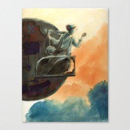 Big wheel Canvas Print