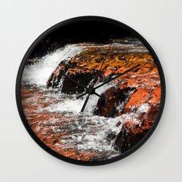 Quebrada de Jaspe Wall Clock