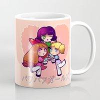 powerpuff girls Mugs featuring PowerPuff  by Mickey Spectrum